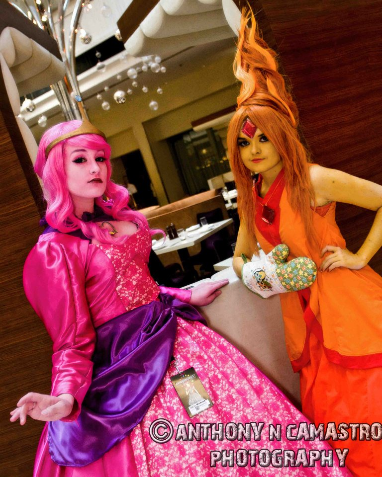 Princess Bubblegum - Bakamono Cosplay Flame Princess - AngelDictator Cosplay Photography - Anthony N Camastro Photography
