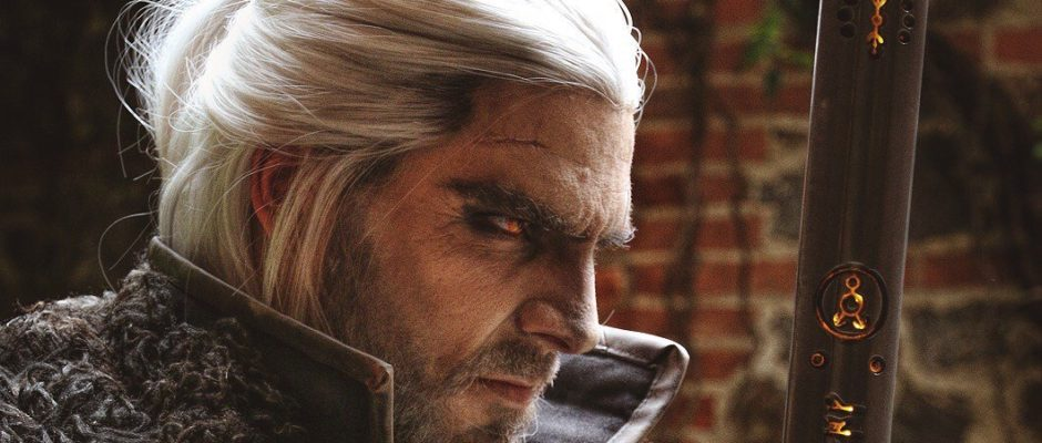 Geralt of Rivia cosplay picture
