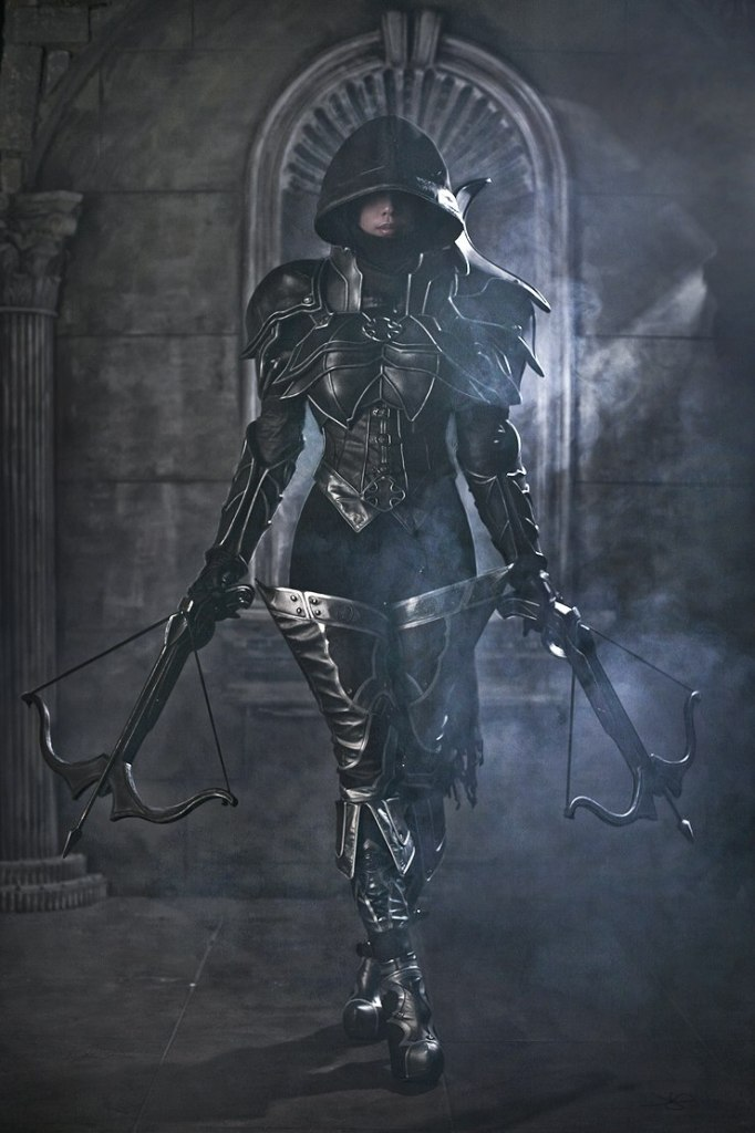 Tasha Cosplay Diablo3 Demon Hunter COTD4