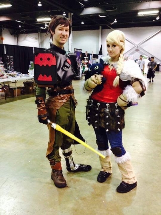 Astrid - Bakamono Cosplay Hiccup - Axelablaze Cosplay